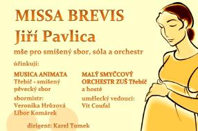Plakát benefiční koncert Na počátku